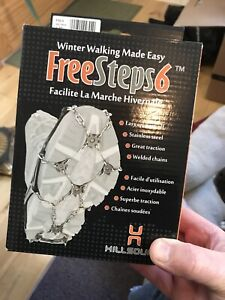 FreeSteps 6 Crampons for Boots - Size L/G