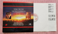 Laser Disc Movie: FAR AND AWAY, Tom Cruise, Nicole Kidman - by Ron Howard