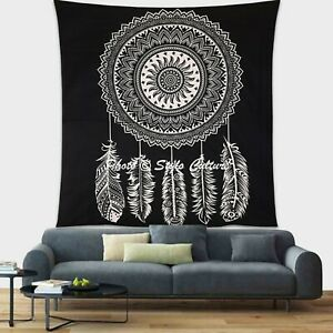 Indian Mandala Queen Tapestry Dream Catcher Bedding Wall Hanging Throw