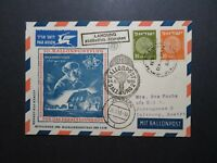 Israel 1953 Balloon Post Cover to Austria (II) - Z11397