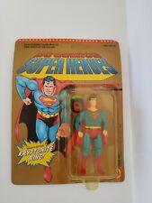 DC COMICS SUPER HEROES SUPERMAN FIGURE RARE 1989 TOYBIZ