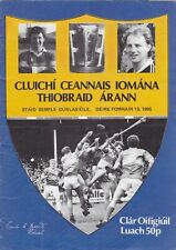 1985 Tipperary Senior Hurling County Final
