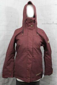 686 Smarty Spellbound Snow Jacket Womens Small, Desert Rose Diamond Textured New