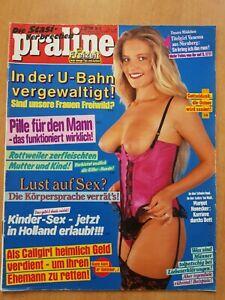 """Online lesen zeitung praline Sexzeitschrift: """"Praline"""""""
