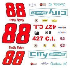 #88 Buddy Baker City Chevrolet, Charlotte 66 Chevelle