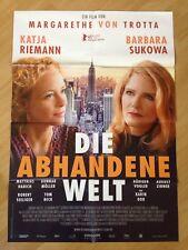 Filmposter * Kinoplakat * A1 * Die abhandene Welt * 2015 * Regie: M. von Trotta