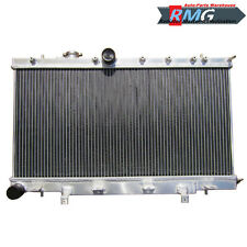 2 Row Aluminum Radiator For 2002-2007 Subaru Impreza WRX STI 2003 2004 2005 2006