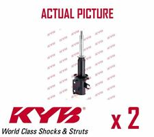 2 x FRONT AXLE SHOCK ABSORBERS PAIR STRUTS SHOCKERS KYB OE QUALITY 633117