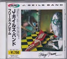 The J. Geils Band – freeze-frame (CD 1981) Japon import avec obi-RAR!!!