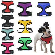 More details for adjustable dog harness puppy restraint outdoor mesh breathable pooch pulling pet