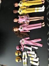 Mighty Morphine Power Rangers Bandi Dolls Kimberly, Aisha and Trini