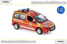 Peugeot Partner 2010 Pompiers Secours Médical  NOREV - NO 479818 - Echelle 1/43