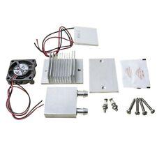 DC 12V Thermoelectric Peltier Cooler Refrigeration Cooling System Dissipatore di calore Modulo di conduzione Semiconductor Frigorifero Refrigerazione Sistema di raffreddamento Kit fai da te Mini condi