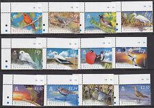 BRITISH INDIAN OCEAN TERRITORY :2004 Birds definitive  SG296-307 MNH