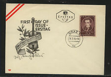 Austria 560 on nice cachet first day cover Kel0916