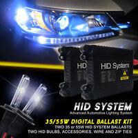 GE Xenon Lights 35W 55W Slim HID Kit for GMC Sierra 3500 HD Year 2001 to 2016