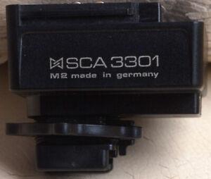 Metz SCA 3301 SCA3301 SCA-3301  TTL/AF Flash Hot Shoe Adapter for Minolta