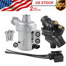 Water Pump W/Thermostat & Bolts 11517586925 BMW 128i 325i 328i 528i 530i X3 X5
