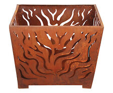 outdoor fire pit bowl wood  brazier rust NEW. Very large 61 cm . VERY GOOD PRICE