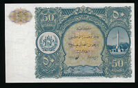 AFGHANISTAN 50  Afghanis 1936  UNC  Pick 19  UNCIRCULATED  Rare / Selten