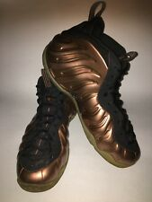 Nike Foamposite COPPER/GOLD Size 14 USED 100% AUTHENTIC