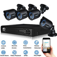 JOOAN CCTV Security Camera System 720P AHD Camera 8CH 1080N DVR NVR Kits Home