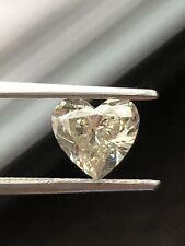 1.06 Ct. EGS / EGL CERTIFIED, NATURAL FANCY LIGHT YELLOW HEART SHAPED DIAMOND