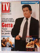 TV Magazine du 24-11-2002; Interview Laurent Gerra/ Les Popsars enfants/ Bell Ca