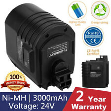 24V 3000mAh Ni-MH Battery For Bosch GBH 24VRE BAT019 BAT020 BAT021 0611260539 UK