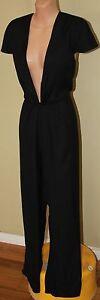 Womens Black 'The Martini Pantsuit' BNWT $299.95 - Pizzuto - Size 12