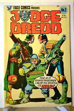 Judge Dredd issue 2 Bolland Cover Eagle Comics