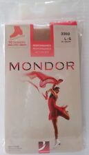 Mondor 3350 Over Boot Figure Skating Tights - Size Large Suntan *NEW*