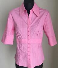 Nylon 3/4 Sleeve Button Down Shirts for Women