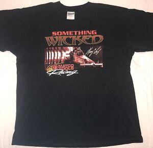G-Man Gary Scelzi Something Wicked XL Tee Matco Tools Drag Racing NHRA Tshirt 1X