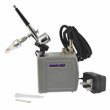 Portable Mini Air brush And Compressor Spray Paint Gun Airbrush Kit