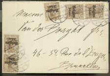 Dt Besetzung Belgien Mi 11 MeF Brief
