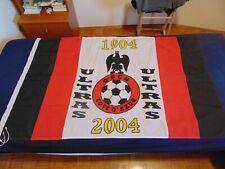 BANDIERA FLAG BANDERA ULTRAS NICE NIZZA OGCN COTE D'AZUR 1904 2004 100 ANS CALCI