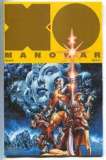 X-O Manowar 1 Valiant 2017 NM+ 9.6 Gold Logo Variant