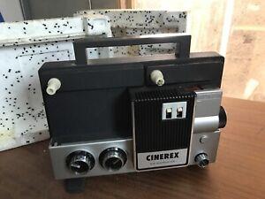 Vintage CINEREX Dual 8mm Film Projector