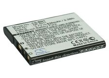 3.7V battery for Sony Cyber-shot DSC-W570V, Cyber-shot DSC-TX55, Cyber-shot DSC-