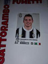 Figurine Calciatori N.236 Giaccherini Juventus Magazzino - Anno 2011-2012 Panini