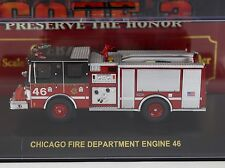 Code 3 Chicago FD Pastime Special Luverne Pumper Engine 46 1:64 Diecast 12321