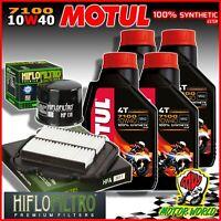 Oil Replacemenet Kit MOTUL 7100 10W40 + Filters Suzuki DL 650 V-Strom 2011 2012