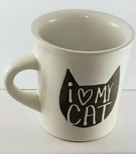 I Love My Cat Coffee Mug Cup Ore Originals Happy Products Heart Kitty Tea Lover