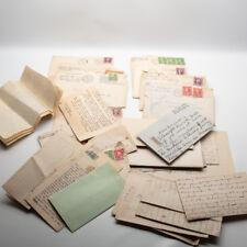 30s Depression Era Children Student Correspondence Letters Honolulu Portsmouth
