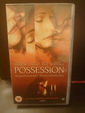 **POSSESSION** Gwyneth Paltrow, Aaron Eckhart - 2003 PAL VHS/Video - RARE