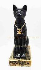 Ancient Egyptian Miniature Doll House Small Sculpture Bastet Goddess Cat Form
