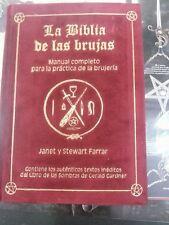 LA BIBLIA DE LAS BRUJAS EN TERCIOPELO ROJO,PRECIOSO!BRUJERIA,MAGIA,WICCA