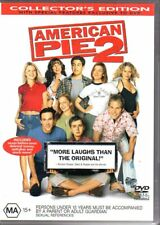 AMERICAN PIE 2 COLLECTOR'S EDITION - DVD R4 (2002) Good Cond - FREE POST