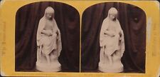 Highland Mary by A Brodie. 1862 International Exhibition Stereoview A4.301